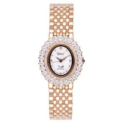 愛其華 Ogival  (380-02DLR)薔薇宮廷真鑽奢華時尚腕錶/26mm