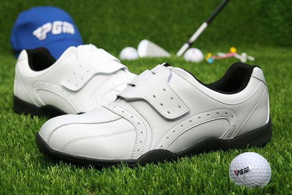 專業高爾夫球鞋日本風格魔術貼鞋帶男士防水鞋七天預購+現貨