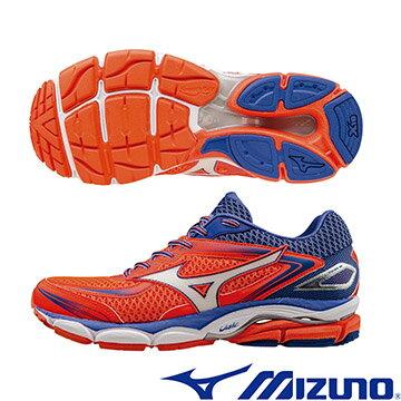J1GD160902(紅X銀X藍)一般型波浪片 WAVE ULTIMA 7 (W) 女慢跑鞋 A【美津濃MIZUNO】