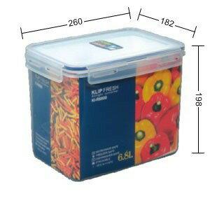 戶外野餐~KIR6800 KI-R6800 天廚長型保鮮盒【139百貨】
