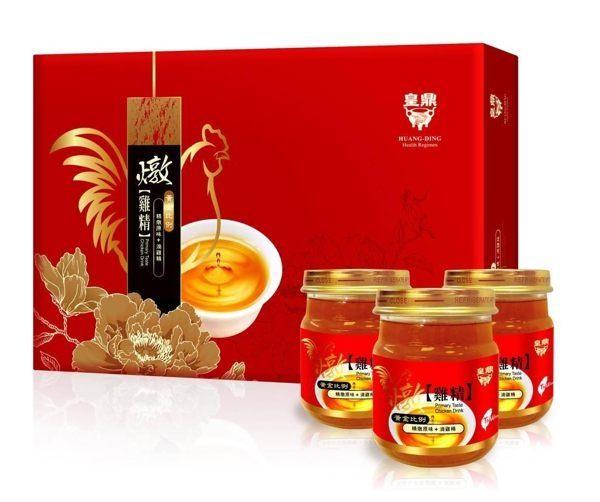 【母親節禮盒】皇鼎原味燉雞精精燉原味+滴雞精8瓶盒◆德瑞健康家◆