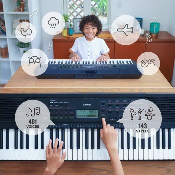 公司貨免運 YAMAHA PSR-E273 電子琴(附贈全套配件,特別加贈大延音踏板 / 鍵盤保養組超值配件)【唐尼樂器】 3