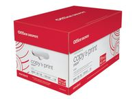 Deals on Office Depot Copy Print Paper, Case Of 10 Reams