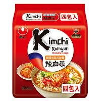 韓國泡麵推薦到韓國農心辣白菜拉麵 x4包【愛買】就在愛買線上購物推薦韓國泡麵