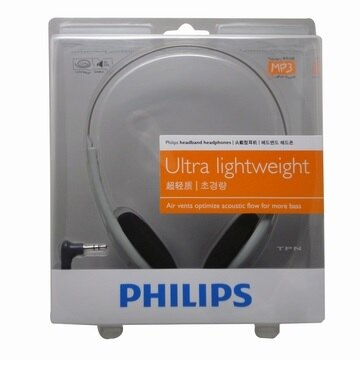 PHILIPS頭戴式輕量型耳機(HL140)