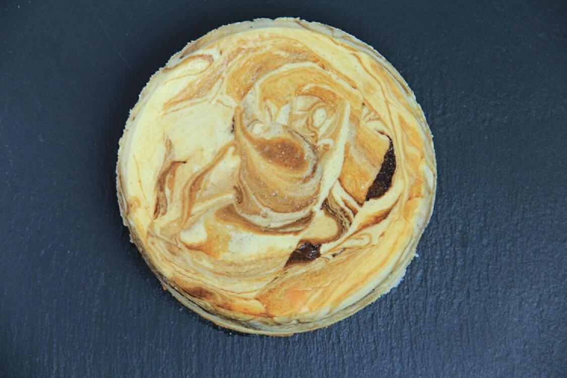 【三木烘焙工房】首創半熟乳酪⇧進階版 理石紋 苦甜巧克力x草莓x日式抹茶x咖啡 2