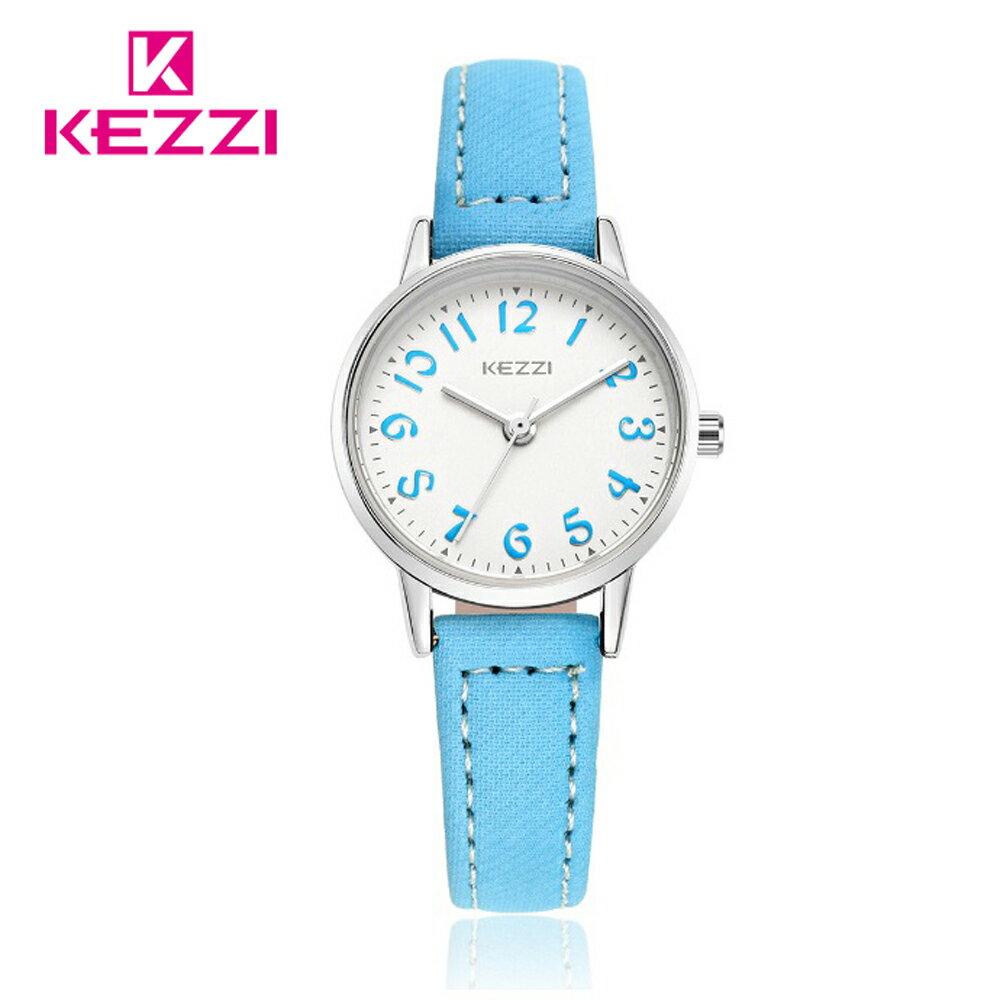 KEZZI 珂紫 K-1564 S 時尚學院風多色搭配款手錶 1