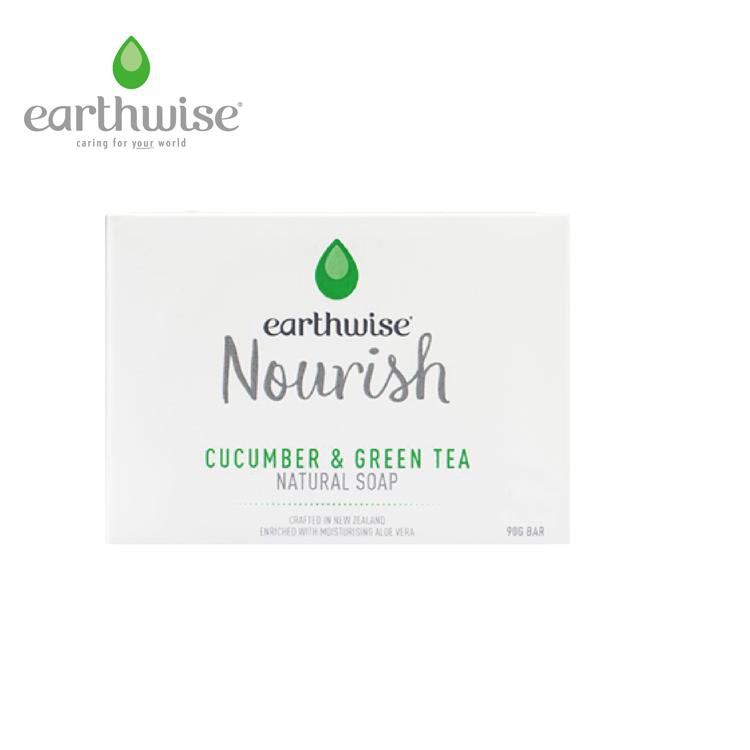 earthwise黃瓜綠茶香皂(90g)