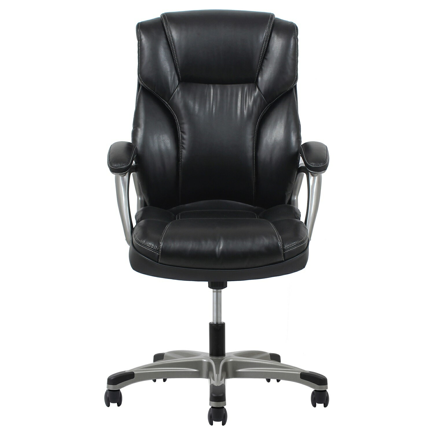 office essentials essentials by ofm ess 6030 high back leather