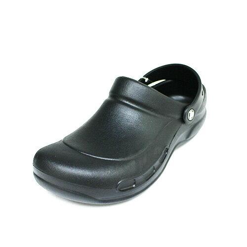 免運Crocs卡駱馳中性鞋工作鞋防滑廚師鞋鱷魚鞋10075-001黑{陽光運動}