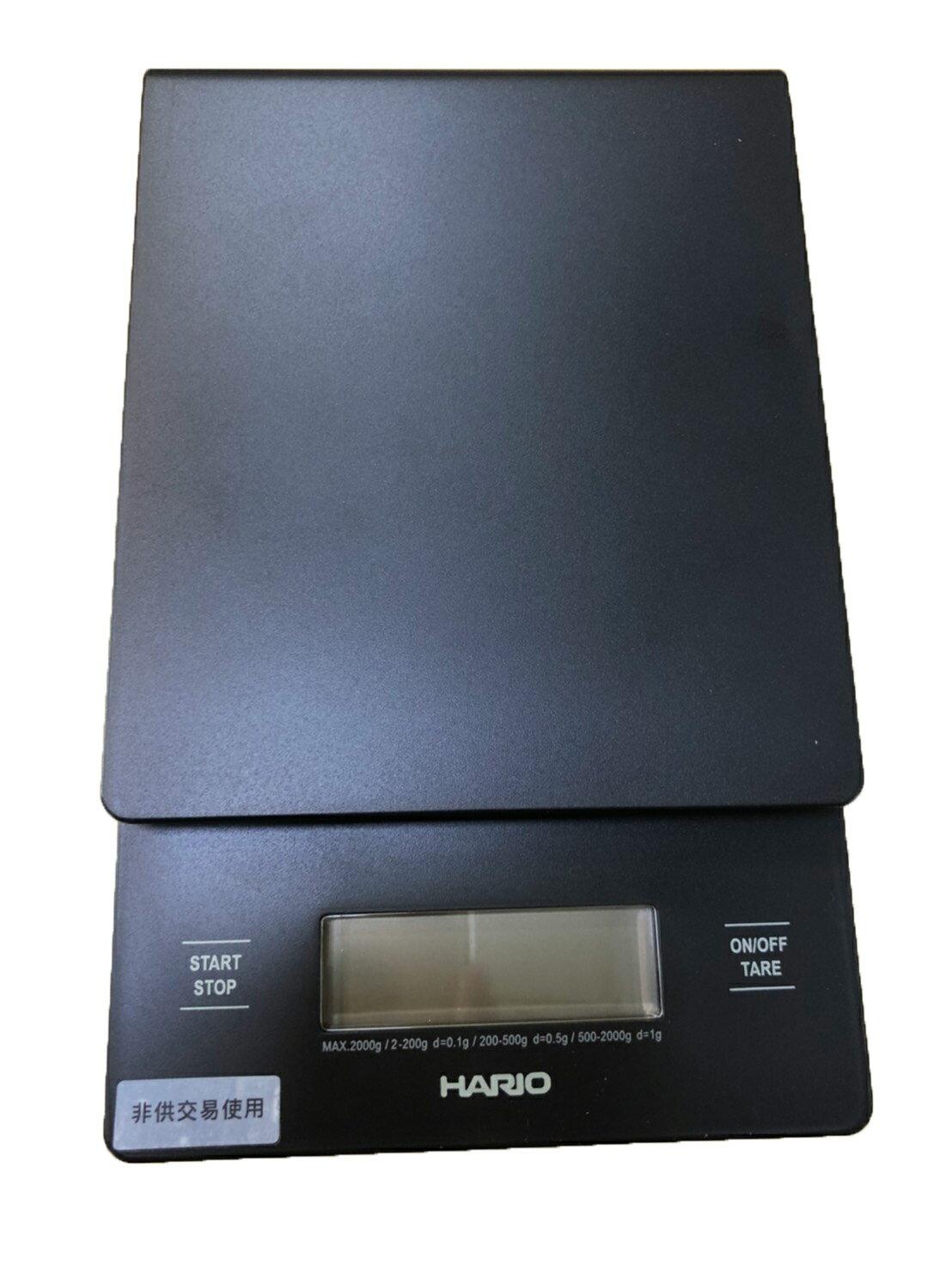 Hario 手沖咖啡電子秤(可計時的喔!) VST-2000B (非供交易使用)[良鎂咖啡精品館]