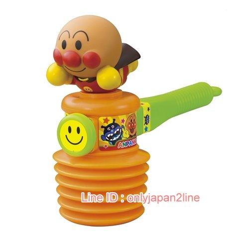 【真愛日本】17021000022槌子玩具-ANP   電視卡通 麵包超人 細菌人 兒童玩具 正品 限量