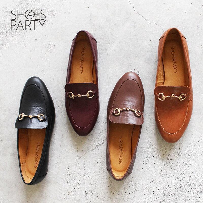 【C2-18129L】真皮鍊條樂福鞋_Shoes Party 0
