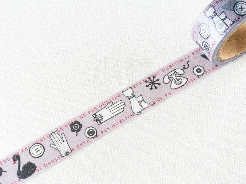 ~小徑文化~ 和紙膠帶 Tokyo Antique x 內籐瑠根 聯名款 ~ 風尚小物