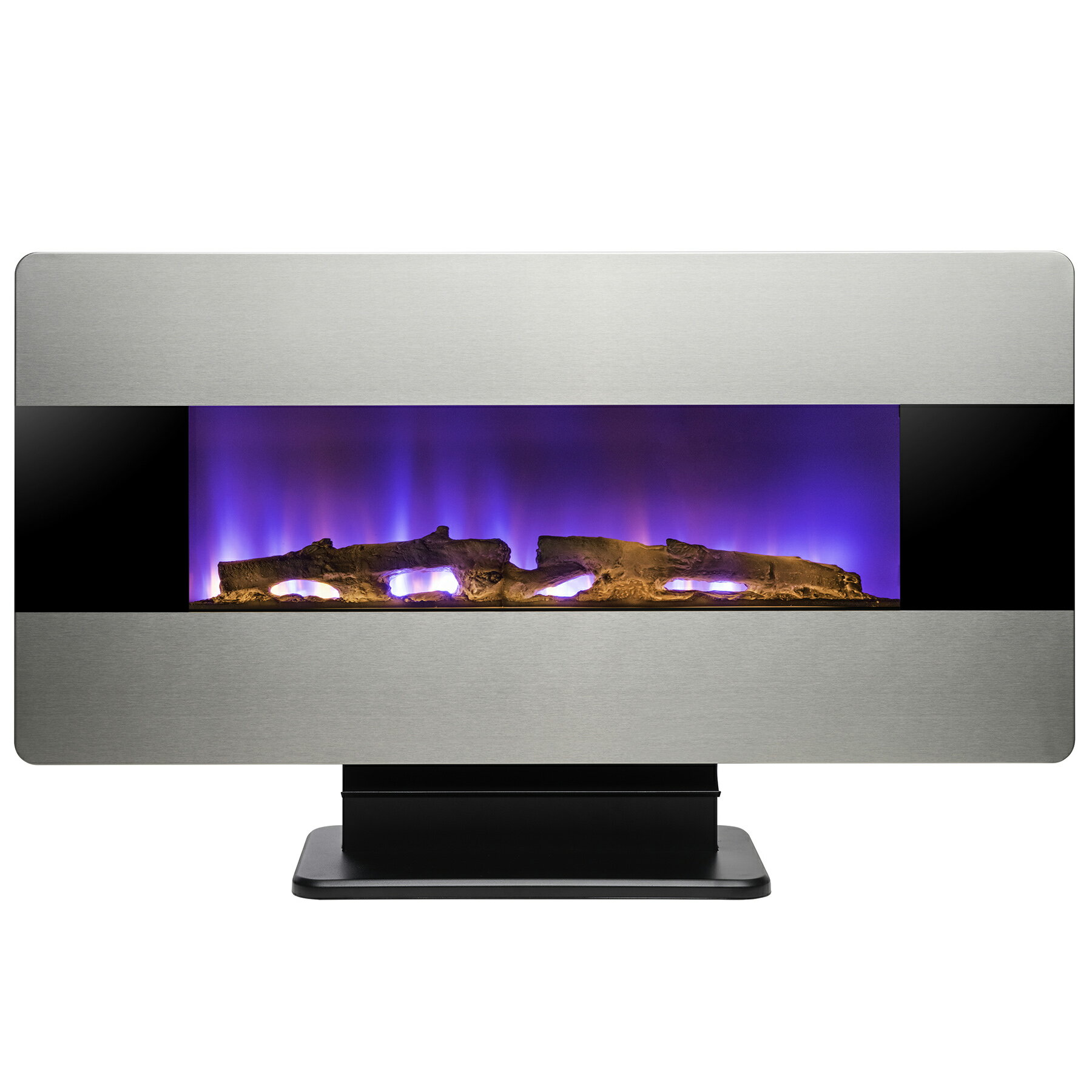"""AKDY 36"""" Wall Mount & Freestanding Convertible Multi Color 3D Flame Electric Fireplace Stove Heater 2"""