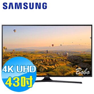 SAMSUNG三星 43吋 UHD 4K 平面液晶電視 UA43KU6000WXZW