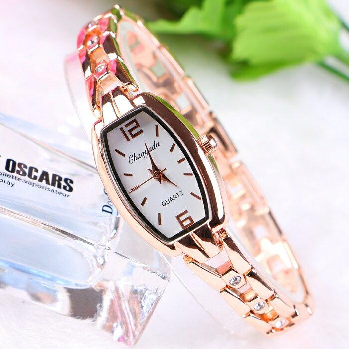 女生手錶女手鏈錶女式手錶女學生韓版簡約鏈女款時尚潮流女錶帶鉆yh