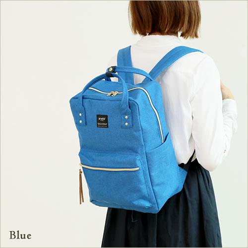 日本anello  /  獨特混色帆布後背包 / 大容量 / 多夾層 /  AT-C1221。共6色-日本必買 日本樂天代購(4212*0.7) 8
