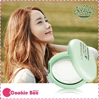 韓國 innisfree 無油光 天然 薄荷 礦物 控油 蜜粉餅 粉餅 底妝 定妝 控油 8.5g *餅乾盒子*