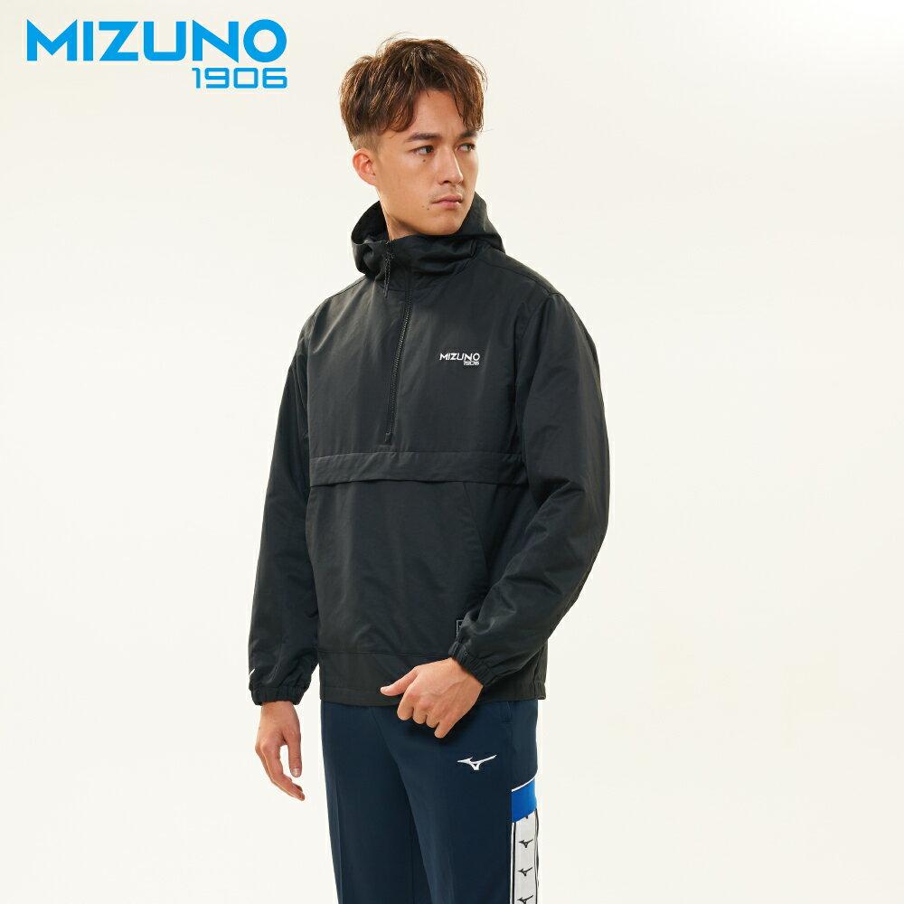 MIZUNO SPORTS STYLE 男款平織防風衣 D2TC957318(灰藍)【美津濃MIZUNO】 1