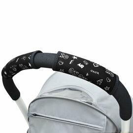 美國ChoopieCityGrips推車手把保護套-單把手款(黑白塗鴉)★衛立兒生活館★