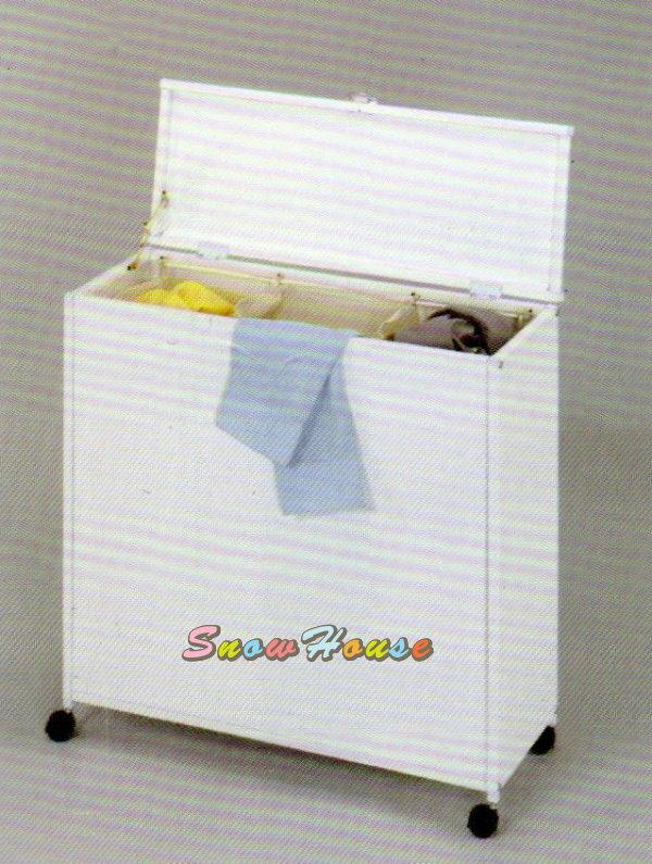 ╭☆雪之屋居家生活館☆╯AA579-03 1034 髒衣分類桶(?線/PP板/輪子)/收納櫃/置物櫃/DIY自組
