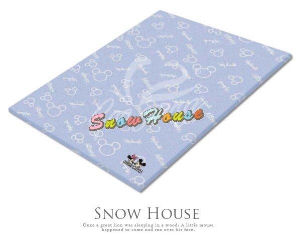 ╭☆雪之屋居家生活館☆╯916-05-06米奇米妮單人(雙人)記憶床墊