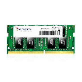 *╯新風尚潮流╭* 威剛 筆記型記憶體 DDR4-2400 4G 4GB 單面 AD4S2400W4G17-R
