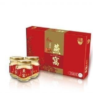 【母親節禮盒】皇鼎頂級燕窩8瓶盒◆德瑞健康家◆