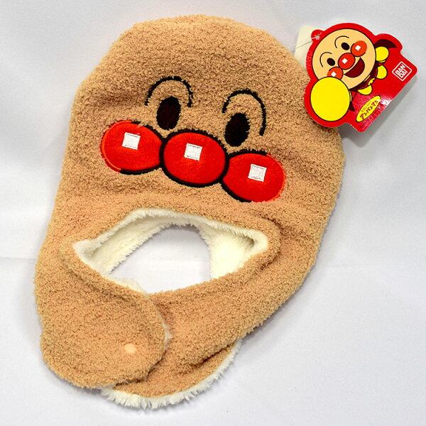 NOBA 不只是禮品:麵包超人兒童頭套毛帽日本BANDAI正版頭圍46-48cm