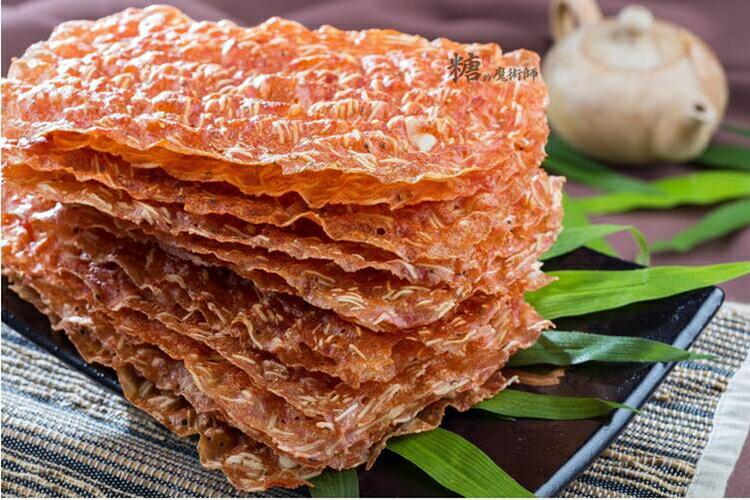 杏仁紅麴肉紙(脆)(80g)