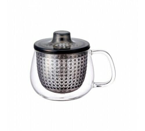 【預購】日本KINTO Unimug 沖茶即享杯 (鐵灰) - 限時優惠好康折扣