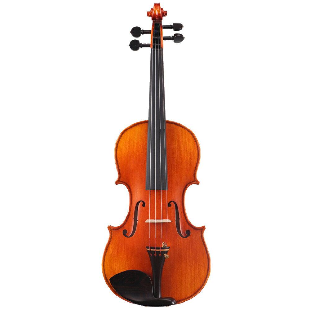 Jazzy 台灣品牌 小提琴 A級雲杉木 實木 贈琴盒+八角琴弓+肩墊+全配,手工全尺寸小提琴