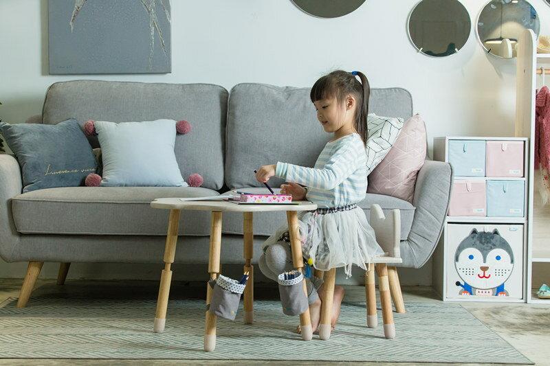 兒童書桌  學習桌  遊戲桌    MyTolek 童樂可 樂遊桌~棉花糖+喵喵椅 4