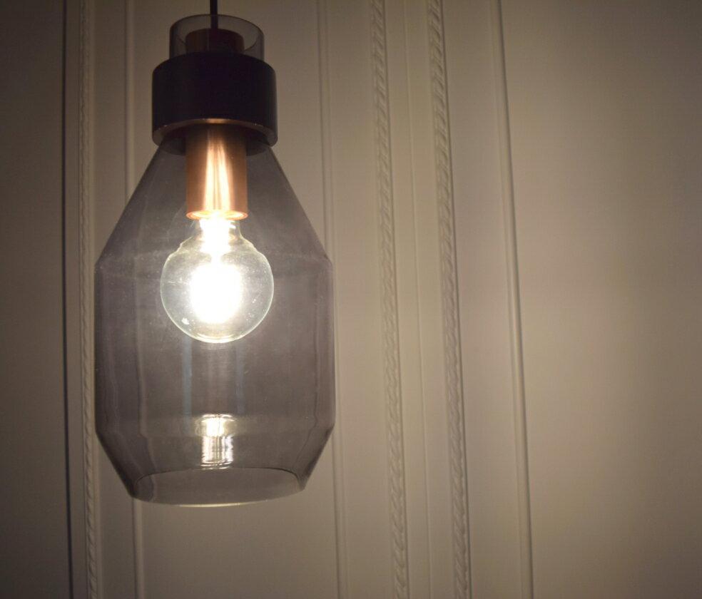 手工吹製電鍍銀玻璃吊燈-BNL00115 6