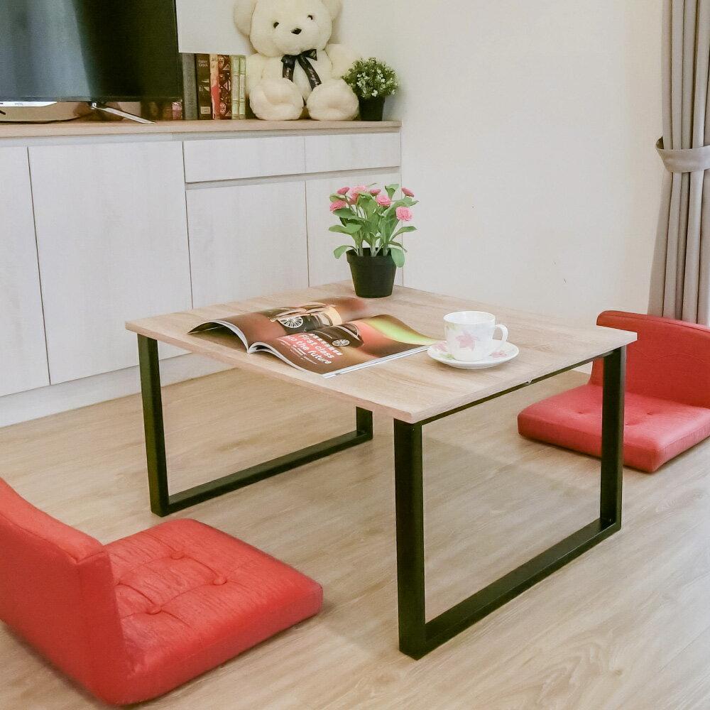 日式茶几桌 / 邊桌 / 方桌 / 和式桌 工業風方型設計和室桌 Amos【DAA034】 0