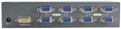 AviewS-8 PORT螢幕分配器/外型金屬材質/PSTEK VP-18 1
