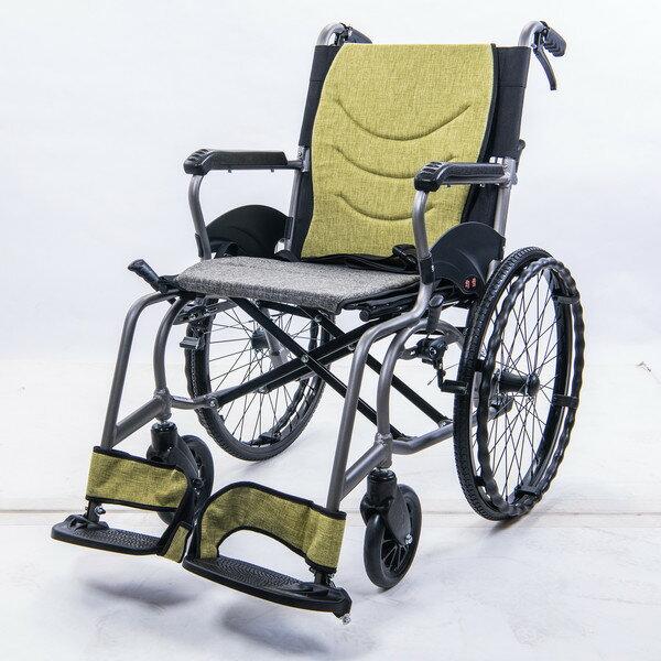 均佳 JW-X30-20 鋁合金輕量化輪椅 外出型