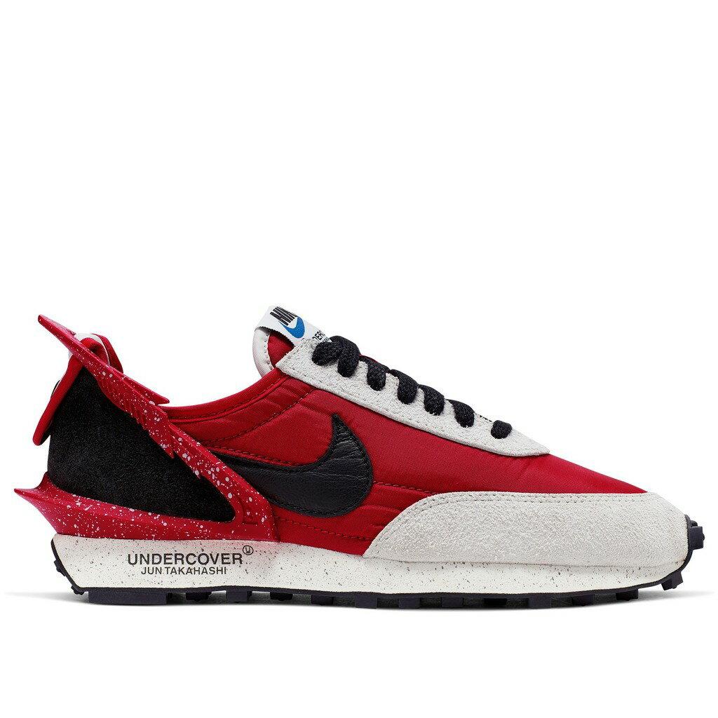 【日本海外代購】UNDERCOVER X NIKE Daybreak 聯名 紅 黑 潑漆 麂皮 男女鞋 CJ3295-600