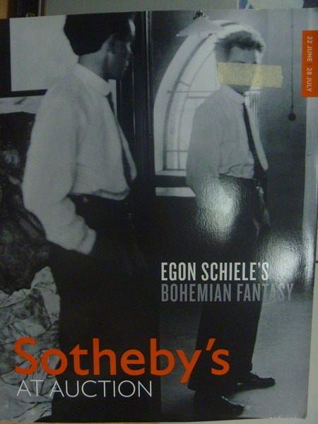 【書寶二手書T9/收藏_YJH】Sothebys_2011/7/28_Egon Schieles…Fantasy