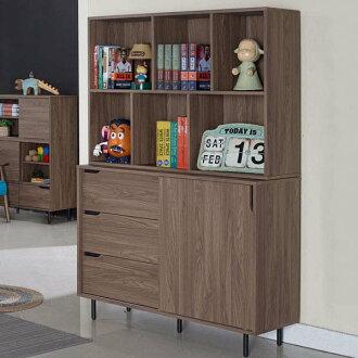 書櫃 開放式書櫃 大型書櫃 櫥櫃 展示櫃 置物櫃 收納櫃《Yostyle》妮克4尺收納書櫃