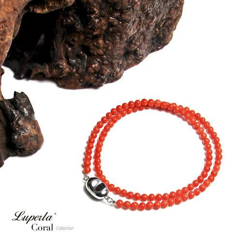 大東山珠寶 嬌貴 全紅沙丁珊瑚項鍊 1