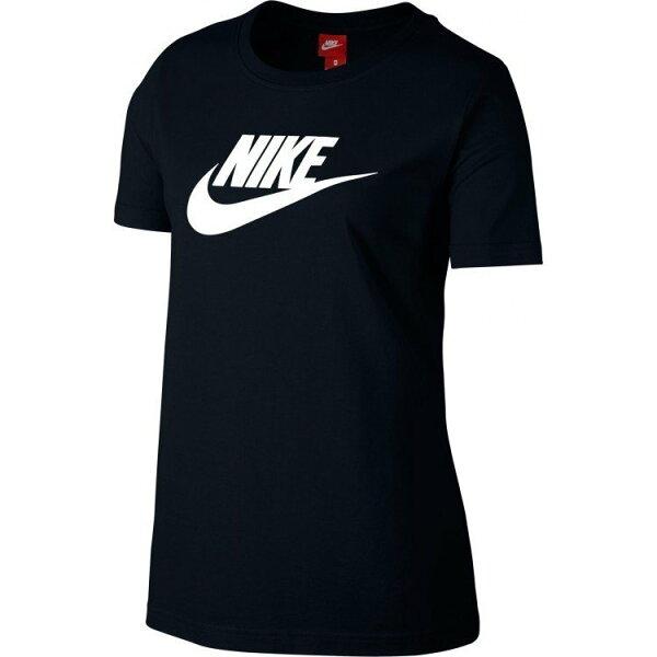 NIKESPORTSWEAR女裝短袖基本款休閒舒適黑白【運動世界】846469-010