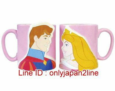 【真愛日本】16121700013DN立體對杯-睡美人  迪士尼 睡美人 Sleeping Beauty 水杯  收藏