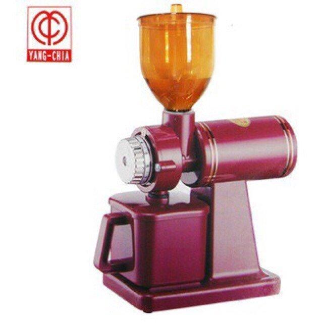 『可刷卡』、楊家 飛馬牌 610N鬼齒磨豆機 小飛馬電動磨豆機 (紅色)