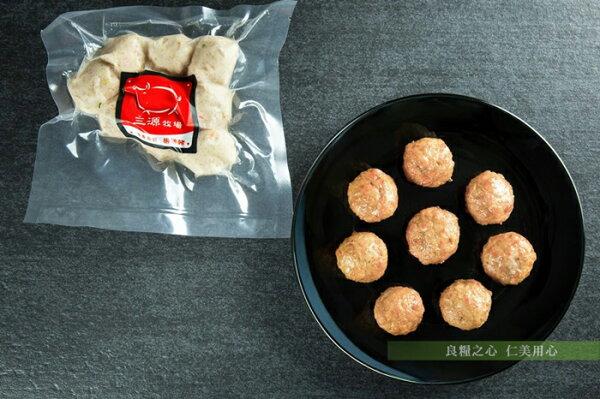 仁美良食:三源樂活豬瑞典丸子(200g包)
