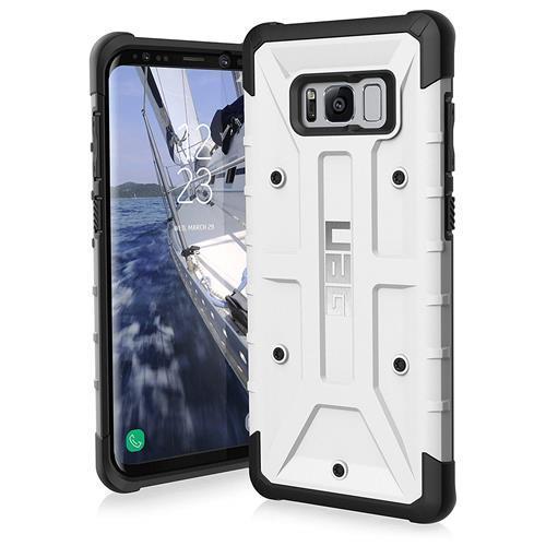 【美國代購-現貨】UAG 三星Galaxy S8 + Monarch Feather-Light 軍用摔落測試 手機殼  白色