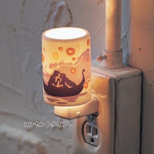 迪士尼限定長髮公主LED夜燈精油燈012990海渡