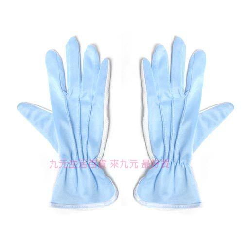 【九元生活百貨】絨布止滑手套/水藍 機車手套 防滑手套