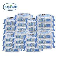 貝恩 EDI 超純水嬰兒手口柔濕巾80抽(24入/箱) ● 濕紙巾 ● 附蓋子(一包一個) ● 含運價●新包裝-babygo-親子特惠商品